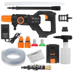 3800PSI Cordless High Pressure Washer 20V Portable Electric Power Cleaner Sets