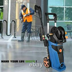 3800PSI Electric Pressure Washer High Power Water Cleaner Sprayer 4Nozzle US