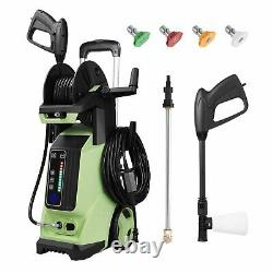 3800PSI Portable Electric Pressure Washer 2.8 GPM Touch-Screen High Power Washer