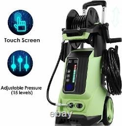 3800 PSI 2.8 GPM Pressure Washer Electric High Power Surface Water Cleaner Kit