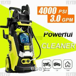 4000PSIElectric High Pressure Washer`3GPM/2000W-Electric Power Washer 4-Nozzles