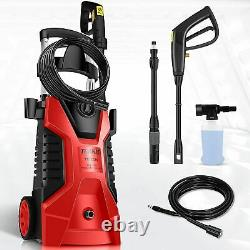 4000PSI/3.0GPM Electric Pressure Washer 2000W. High Power Cleaner Water Sprayer#