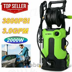 4000PSI/3.0GPM Electric Pressure Washer 2000W. High Power Cleaner Water Sprayer