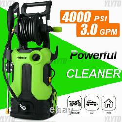 4000PSI/3.0GPM Electric Pressure Washer 2000W, High Power Cleaner Water Sprayer=`