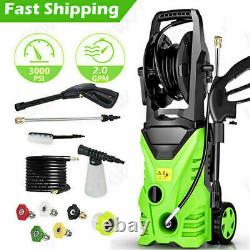 4000PSI 3.0GPM Electric Pressure Washer High Power Cold Water Cleaner Machine