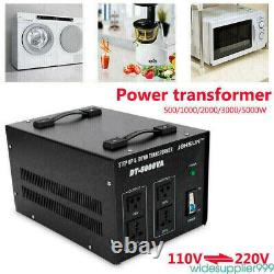 5000 Watt Electrical High Power Voltage Converter Transformer Step Up and Down