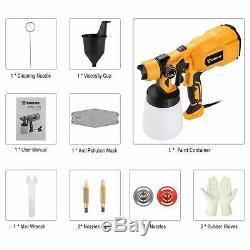 550W 110V Home Electric Paint Sprayer High Power Spray Gun