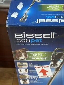 BISSELL ICON Pet High-Powered 22V Lith-Ion Cordless Stick Vacuum Brand New 22882