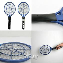 DC Power High-voltage Electric Fly Swatter Mosquito Racket Bug Zapper Killer