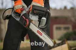 Electric Chainsaw Oregon CS1500 18 in 15 Amp Self Sharpening High Power Corded