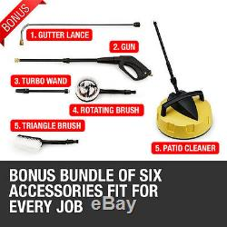 Electric High Power Pressure Washer 3800PSI Power Jet washer Patio car Cleaner