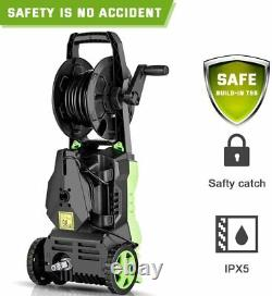Electric Pressure Washer 3000PSI 1.8GPM High Power Cleaner Machine With 5 Nozzles