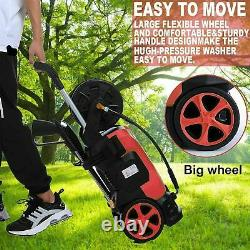 Electric Pressure Washer 3800PSI 3.0GPM High Power Car Water Cleaner Machine US