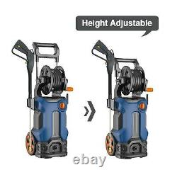 Electric Pressure Washer Home High Power Water Cleaner Machine 3500PSI 2.6GPM