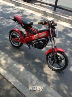 Gomiek High Power 16 1500with60v Folding Electric Motorcycle Ebike Scooter NEW