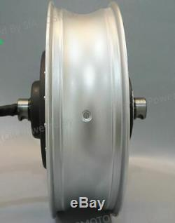 High Power 2KW 72V Brushless Electric Motorcycle Scooter Hub Motor 30-40mph NEW