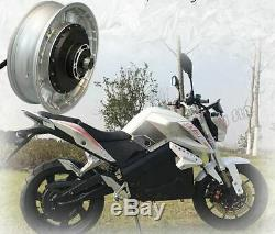 High Power 4KW 72V Brushless Electric Motorcycle Scooter Conversion Kit 43-62mph