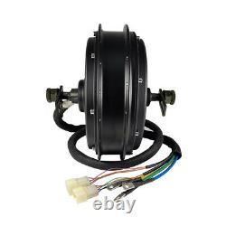 High Power Ebike Electric Bicycle 48-72V 3000-5000W QS Motor Rear Hub 3.5T 5T