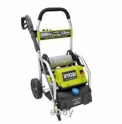 High Power Electric Pressure Washer 2000 Psi 2 Gpm Hose Reel Water Sprayer NEW