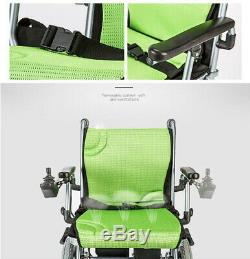 High Quality Folding Lightweight Electric Power Wheelchair Mobility Aid Motorize