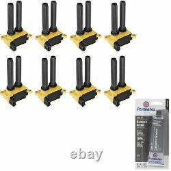 High Racing Performance Ignition Coil + Tune Up Grease For Dodge Charger V8 5.7L