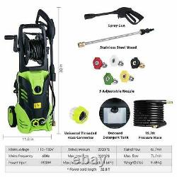 Homdox 3000PSI 1.8GPM Electric Pressure Washer High Power Water Cleaner Sprayer