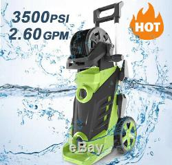 Homdox 3500PSI 2.60GPM Electric Pressure Washer, 1800W High Power Washer Cleaner