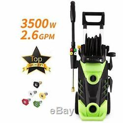 Homdox 3500 PSI 2.6GPM Electric Pressure Washer, 1800W High Power Washer Cleaner
