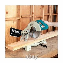 Makita Corded Electric Compound Miter Saw 10 Inch Power Tool Silver LS1040 New