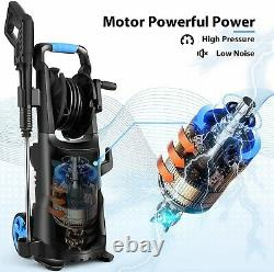 Max 3800PSI Electric Pressure Washer High Power Cold Water Cleaner Machine