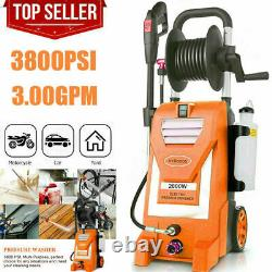 Mrliance 3800PSI 3GPM Electric Pressure Washer 2000W High Power Cleaner Machine