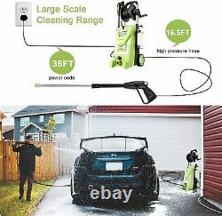 NEW3800PSI 3.0GPM Electric Power Washer 2000W High Pressure Washer with Hose Reel