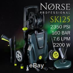 NORSE Professional High Power Electric Pressure / Jet washer 2350psi SK125