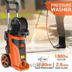 New Upgraded Electric Pressure Washer High Power Cleaner Machine Sprayer 4PX US