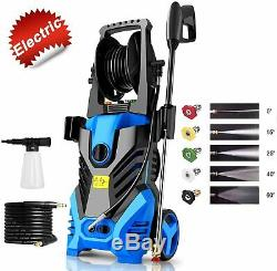 Newest 3000PSI 1.8GPM Electric HIgh Pressure Washer Powerful Sprayer 5 Nozzles