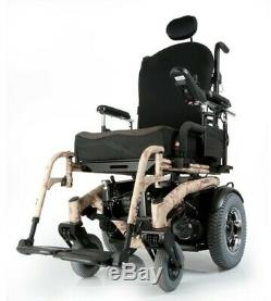 Quickie S-646-SE Electric Wheelchair 8.5 MPH High speed With Power Tilt 18 Wide