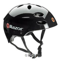 Razor E325 Adult High-Torque Electric Powered Scooter with Helmet & Pads, Silver