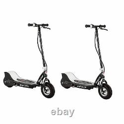 Razor E325 Adult RideOn 24V High-Torque Electric Powered Scooter, Black (2 Pack)