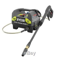 Ryobi 1,600-PSI Electric Pressure Washer Small Compact High Power wash Cleaner