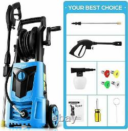 Suyncll Electric Pressure Washer 3000PSI, 2.4GPM High Power Washer Cleaner NEW'=