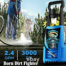 Suyncll Electric Pressure Washer 3000PSI, 2.4GPM High Power Washer Cleaner NEW``