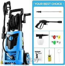 Suyncll Electric Pressure Washer 3000PSI, 2.4GPM High Power Washer Cleaner NEW`