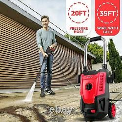 Suyncll Electric Pressure Washer 3500PSI 2.8 GPM High Power Cleaner 1800W