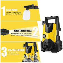 Tooluck Electric Pressure Washer 3500PSI, 2.6GPM High Power Washer Cleaner NEW