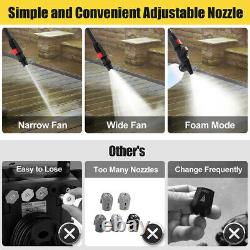 Upgrade Electric Pressure Washer, 3500PSI Power Washer 1800W+High Pressure