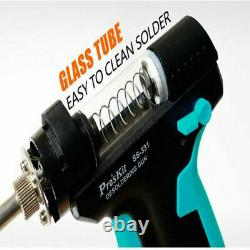 Upgraded SS-331H/HTZ LCD Electric Desoldering Gun Anti-static High Power Strong
