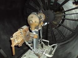 Vintage U. S. N WW2 General Electric High Powered Searchlight