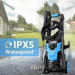 WHOLESUN 3600PSI/2.6GPM Electric Pressure Washer 1900W High Power Washer Spray