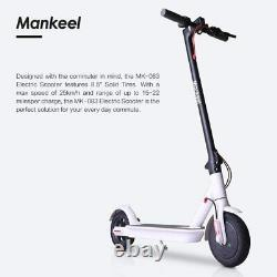 White Mankeel MK083 PRO Electric Scooter 350W High Power Smart 8.5'' Wheel